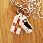 Puffin-and-flag-necklace